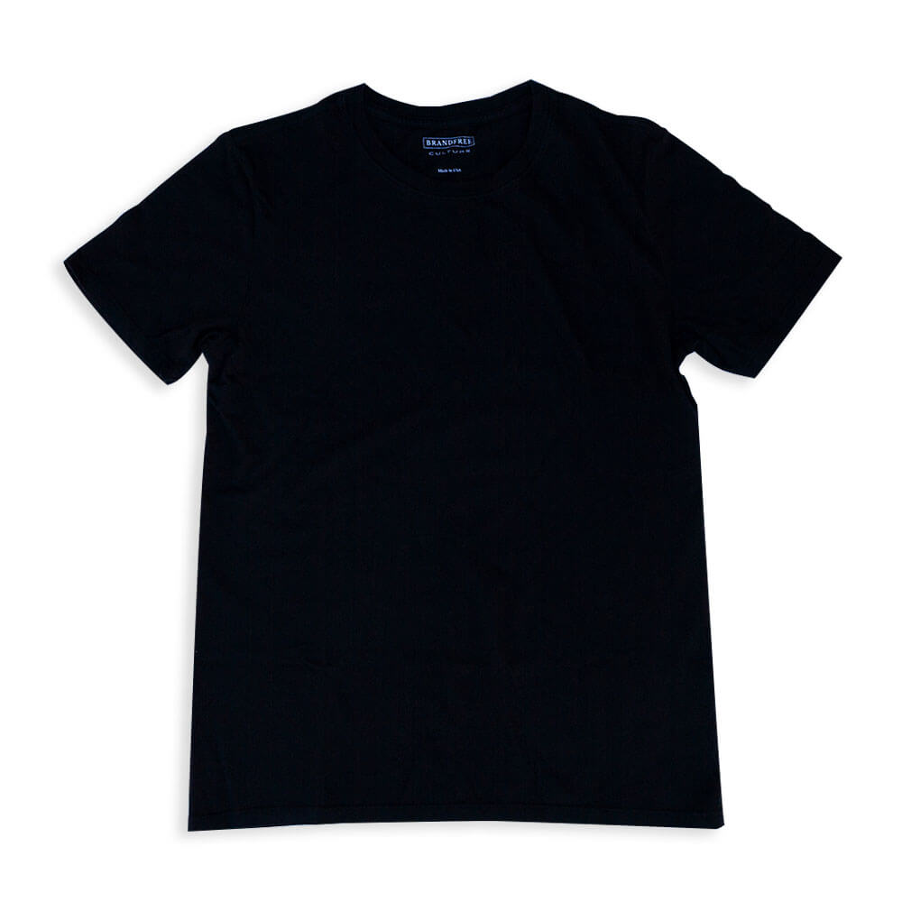 Men's Black T Shirt Crew Neck | Nimble Basics