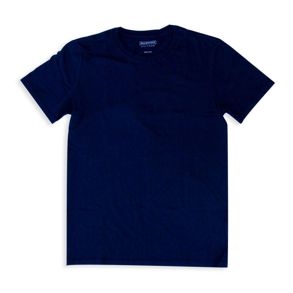Men's Navy T Shirt Crew Neck | Nimble Basics