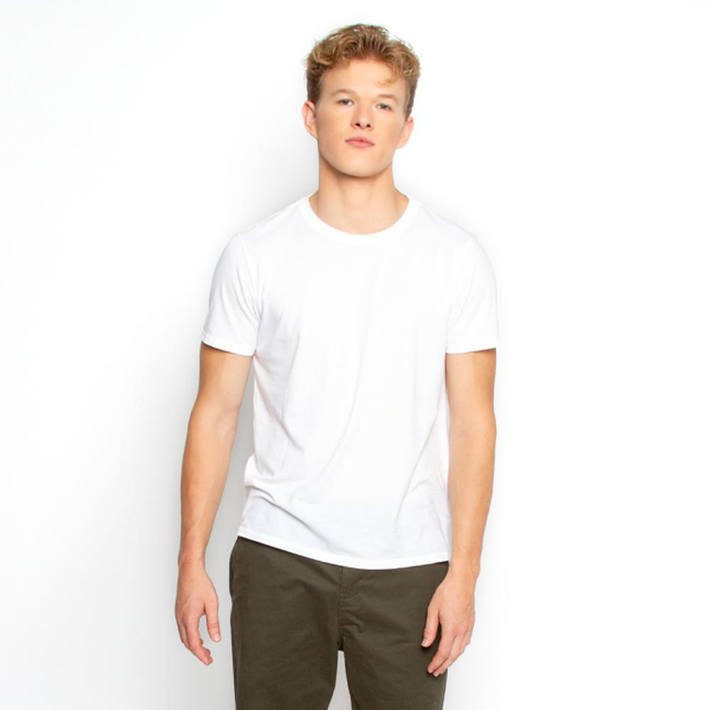 Men's White T Shirt Crew Neck | Nimble Basics