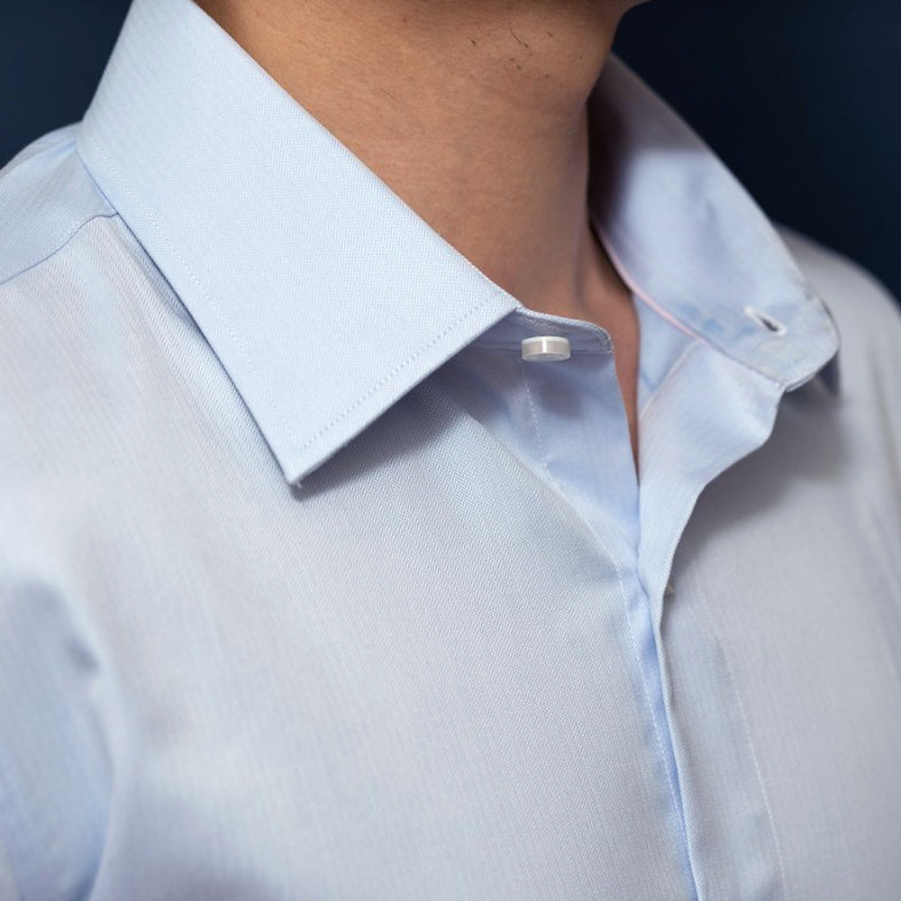 Blue Dress Shirt | The Waterbend