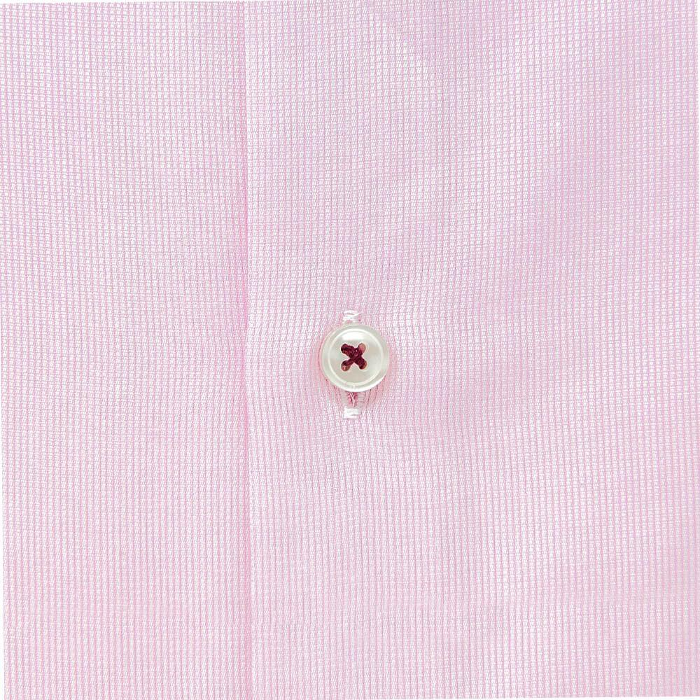 pink-dress-shirt-closeup-button