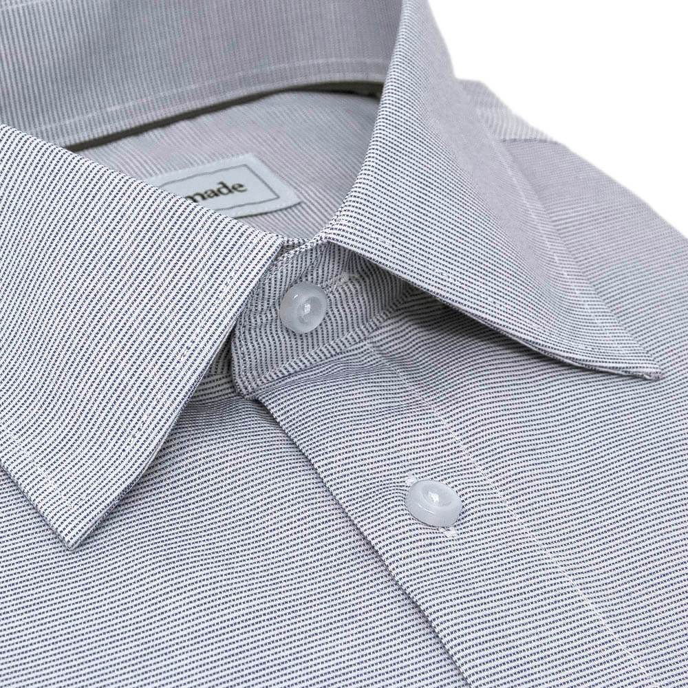 Gray Patterned Dress Shirt | The Sudoku
