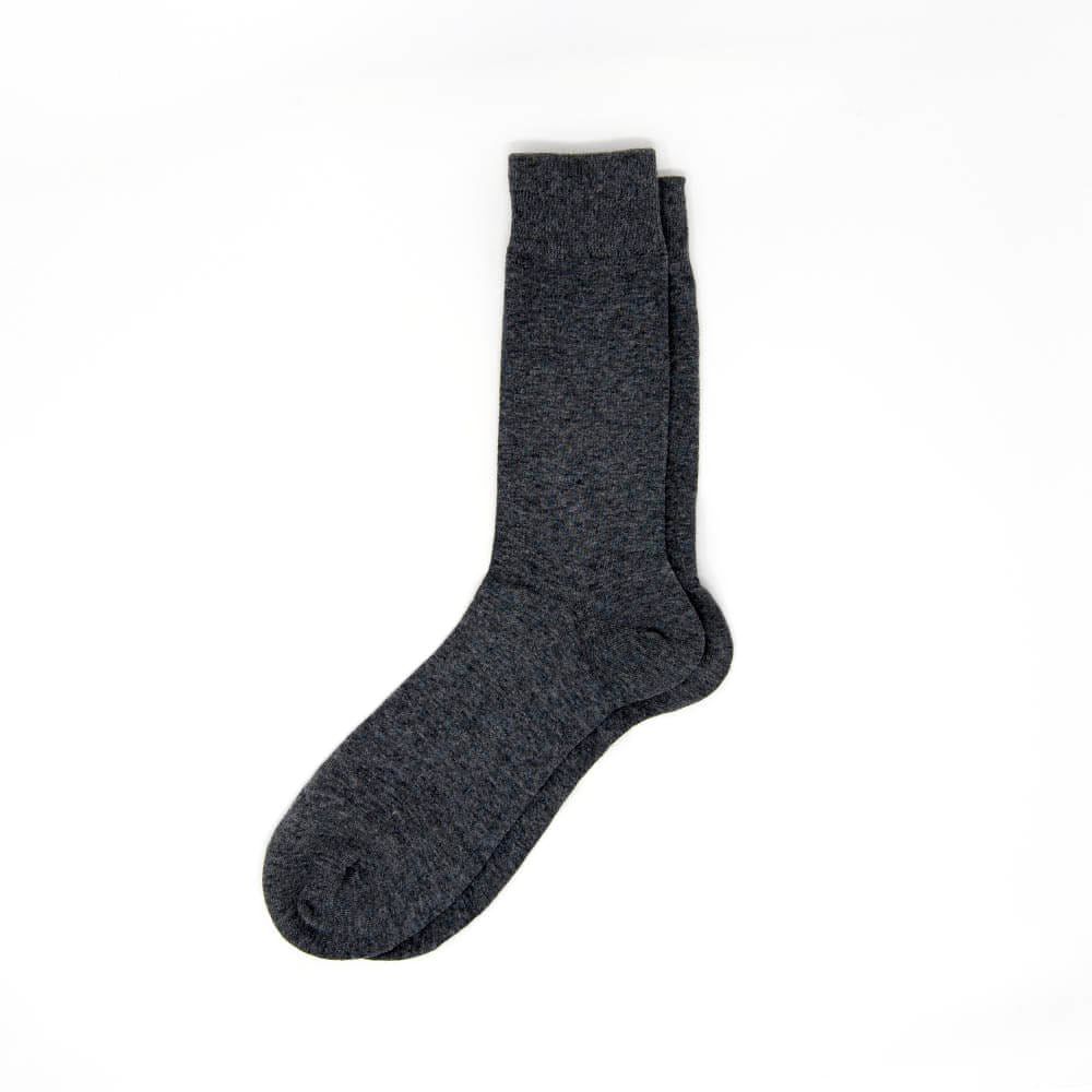 Classic Dark Gray Dress Socks