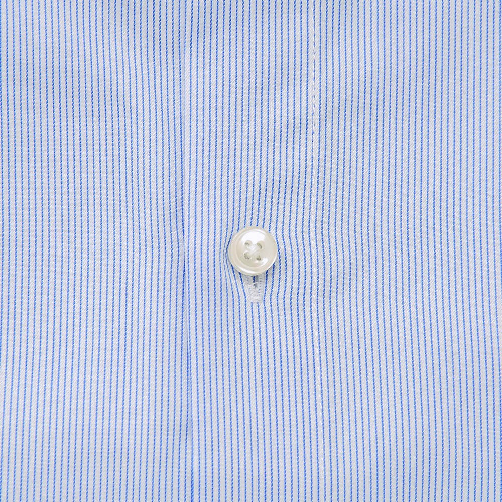 striped-light-blue-button-closeup