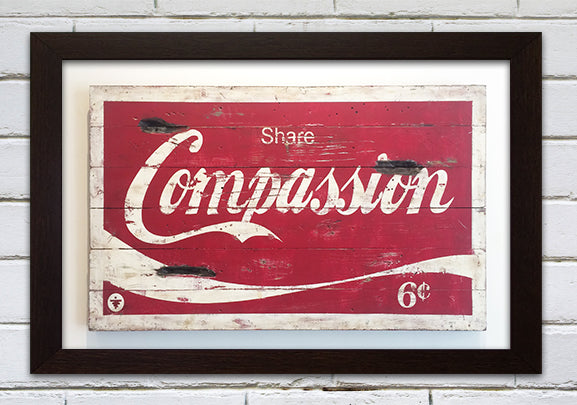 COMPASSION LARGE FORMAT PRINT