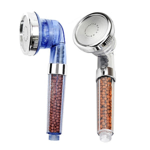 Healthy Negative Ion Filtered Adjustable Shower Head