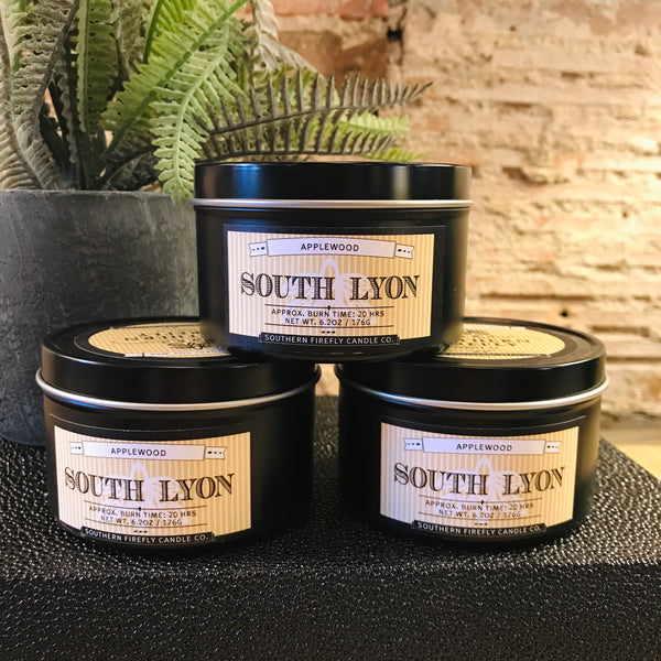 South Lyon Soy Candle