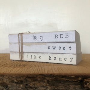 Bee Sweet Like Honey Book Set