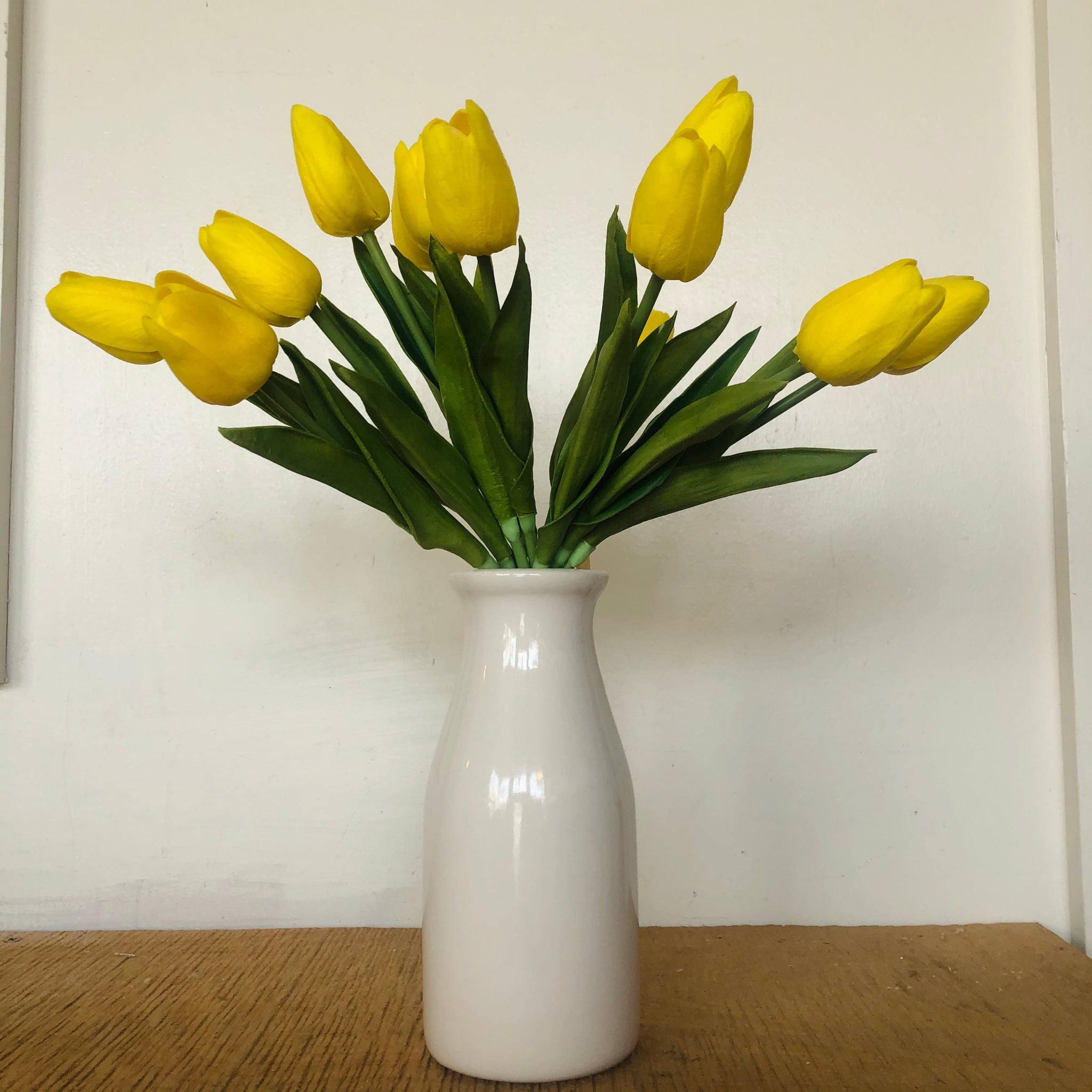 Real Touch Tulip Bouquet 13.5""