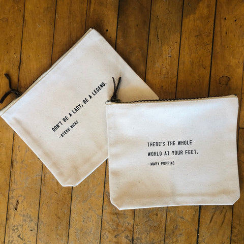 Inspirational Cosmetic Bag