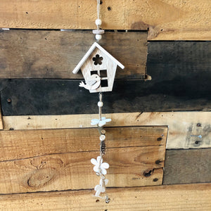 Birdhouse Dangle