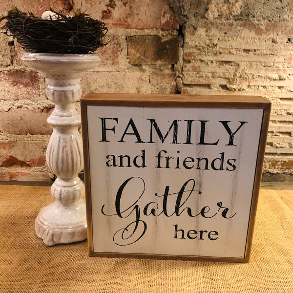 Family and Friends Plaque
