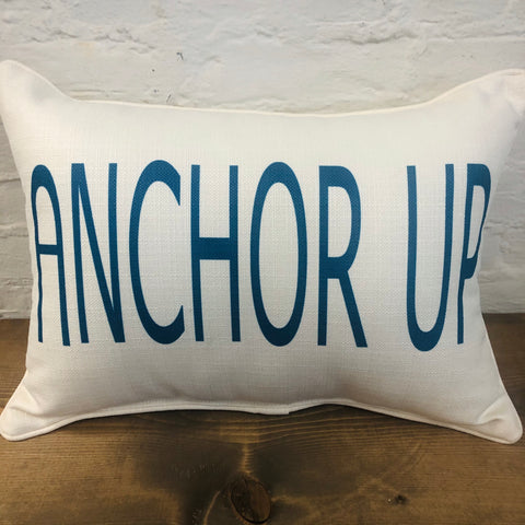 Anchor Up Pillow