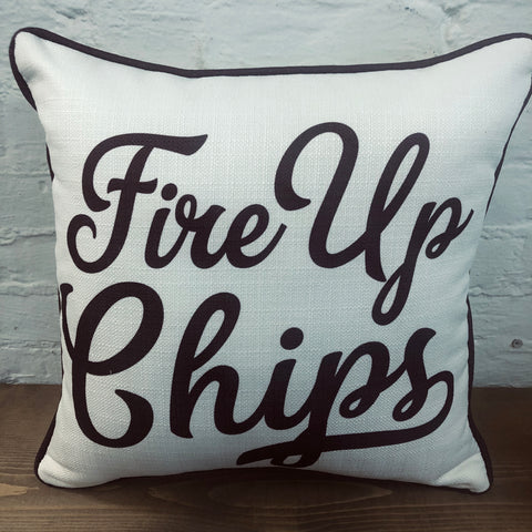 Fire Up Chips Pillow