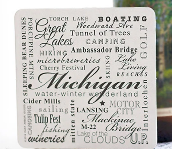 East Arbor Coasters Set/6