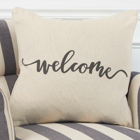 Welcome Pillow