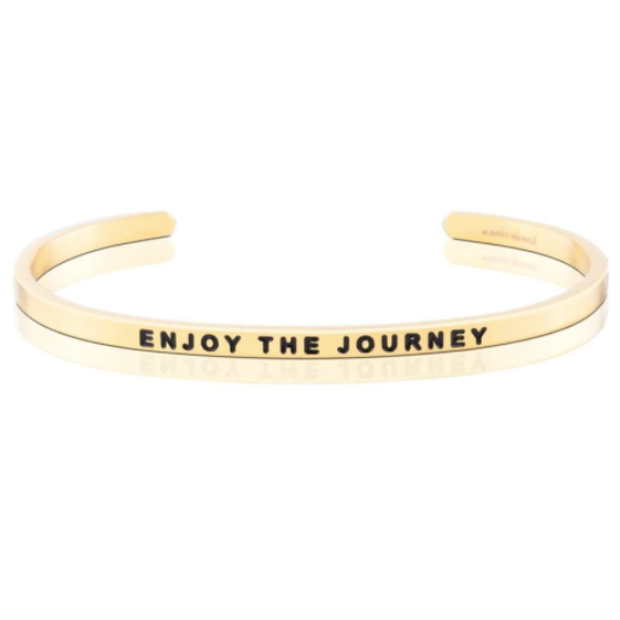 Enjoy The Journey Cuff Bracelet
