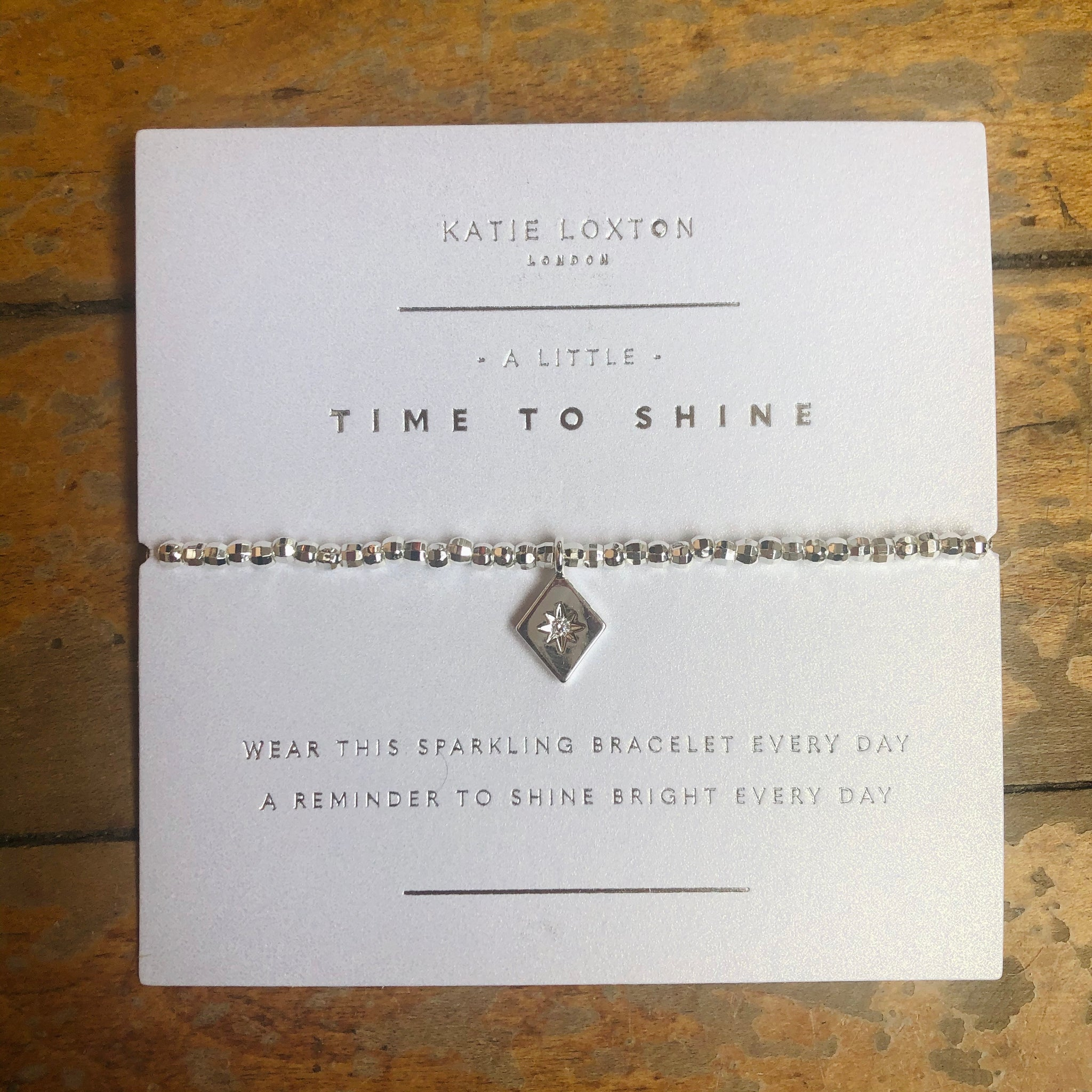 A Little Time to Shine Bracelet