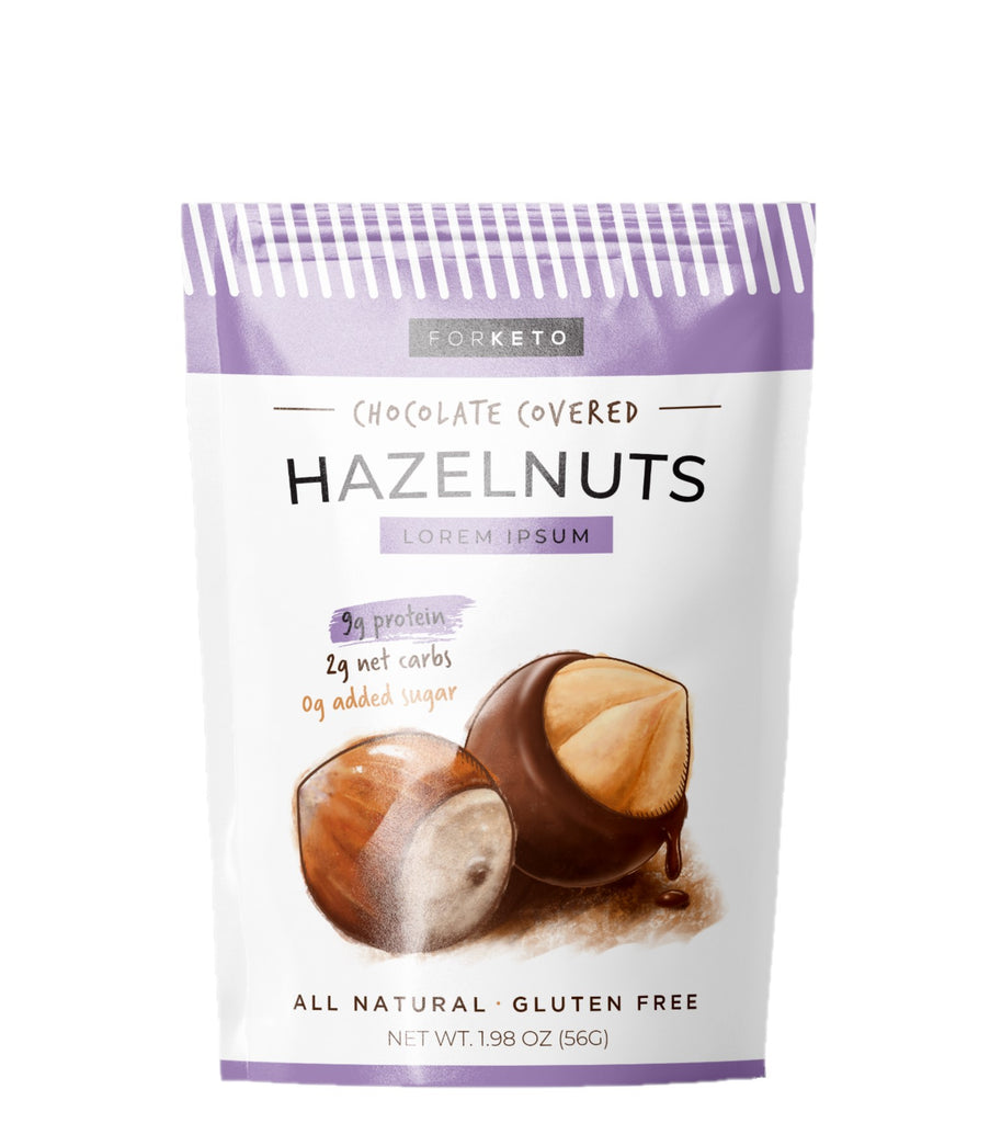 Sugarfree Milk Chocolate Hazelnuts