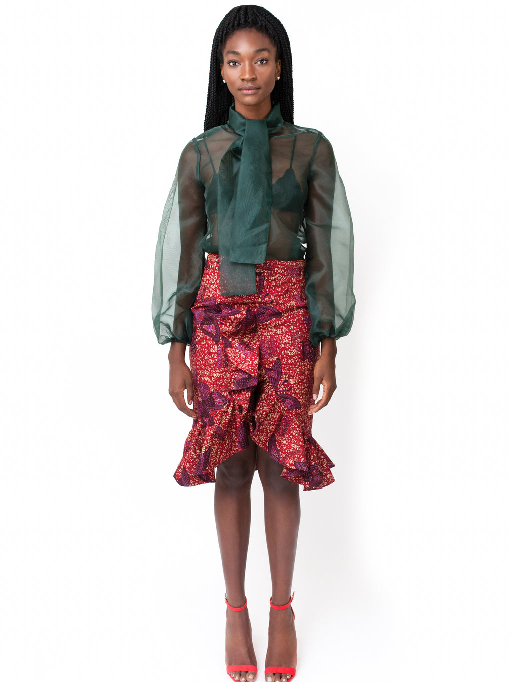 Innika Skirt - Chen Burkett New York