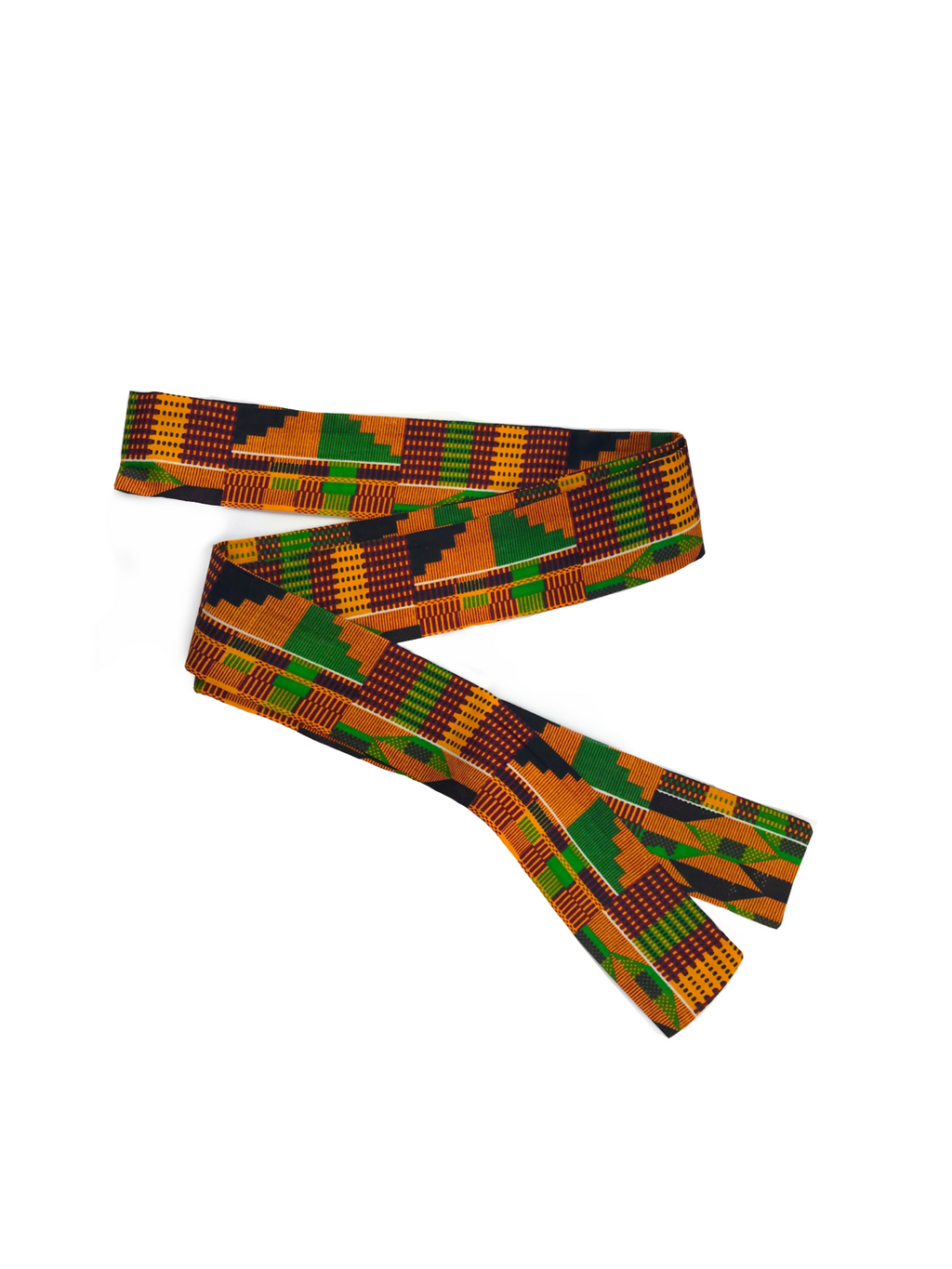 Kente Sash Belt - Chen Burkett New York