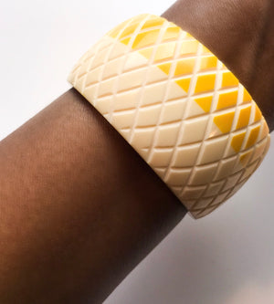 Honeycomb Bangle - Chen Burkett New York