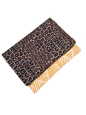 Malawi Clutch: Flax - Chen Burkett New York