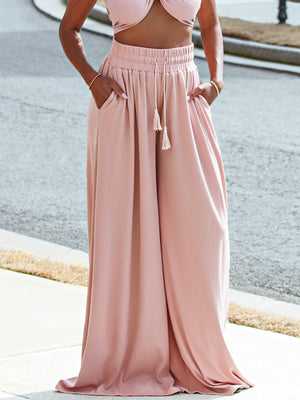 PRE-ORDER Paradise Pants: Dusty Rose