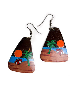 Load image into Gallery viewer, Isla Barbuda Earrings - Chen Burkett New York