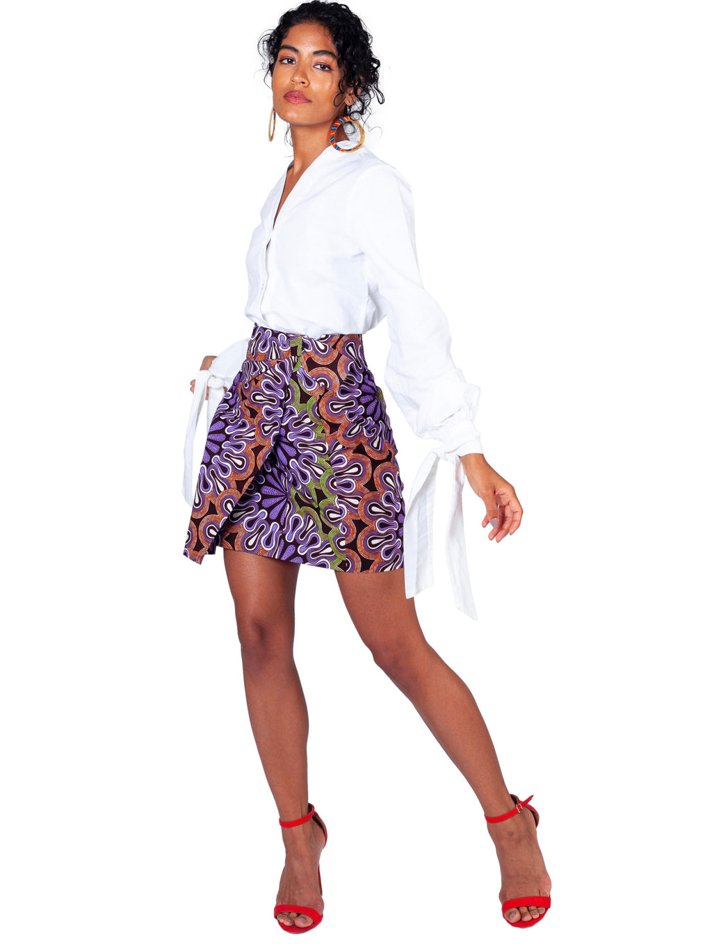Half Moon Bay Mini Skirt - Chen Burkett New York