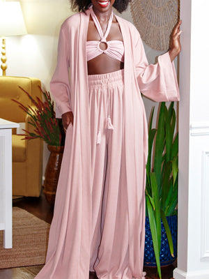 PRE-ORDER: Dusty Rose Duster