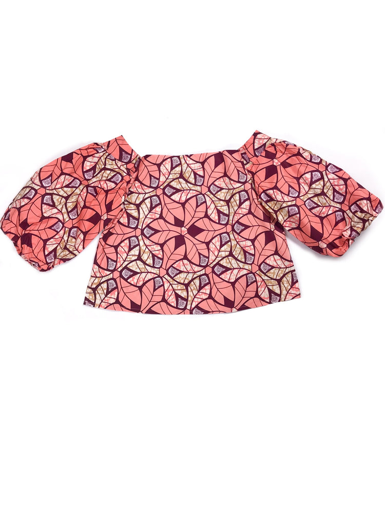 Load image into Gallery viewer, Siboney Blouse: Coral - Chen Burkett New York