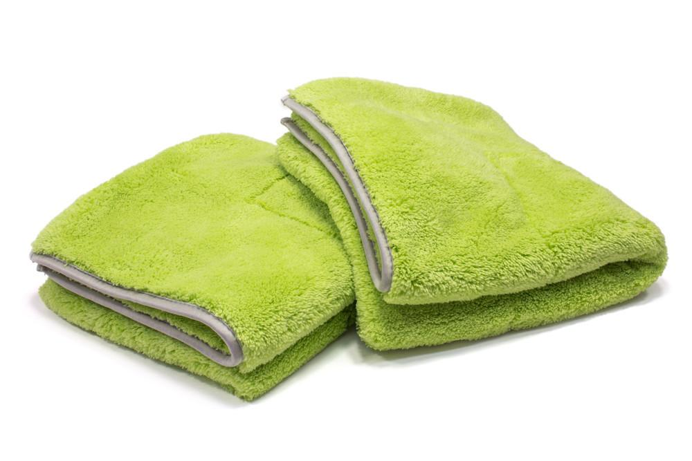 Autofiber [Motherfluffer] Plush Rinseless Wash and Drying Towel (16 in. x 16 in., 1100 gsm) 2 pack Towel - Autofiber Canada