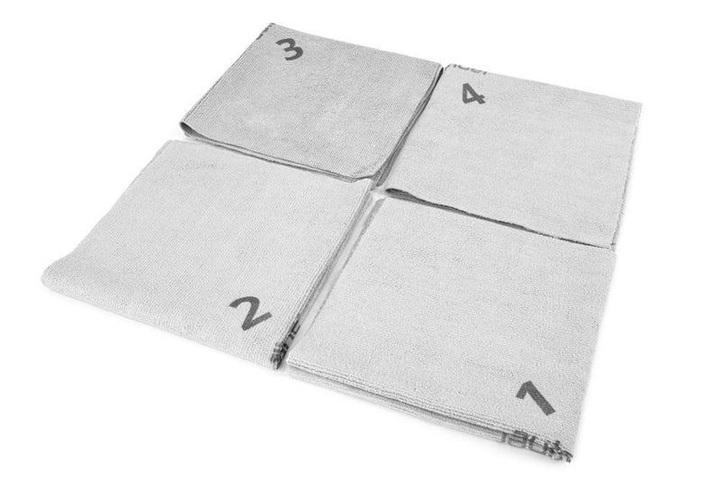 Autofiber [Quadrant Wipe] Microfiber Coating Application Towel (16 in. x 16 in.) - 10 pack Towel - Autofiber Canada