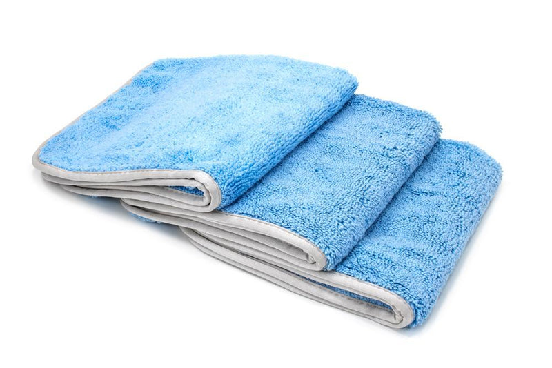 Autofiber [Detailer's Delight] Heavyweight Microfiber QD and Final Wipe Towel (16 in. x 16 in., 550 gsm) 3 pack Towel - Autofiber Canada