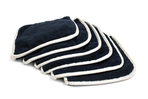 Autofiber [Elite] Edgeless Microfiber Detailing Towels (16 in. x 16 in. 360 gsm) 5 pack