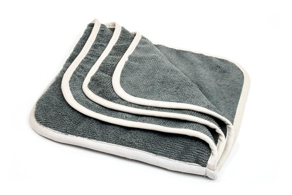 Autofiber [Interior Flip] Microfiber Dash, Plastic, Leather and Upholstery Towel (8 in. x 8 in) 6 pack Towel - Autofiber Canada