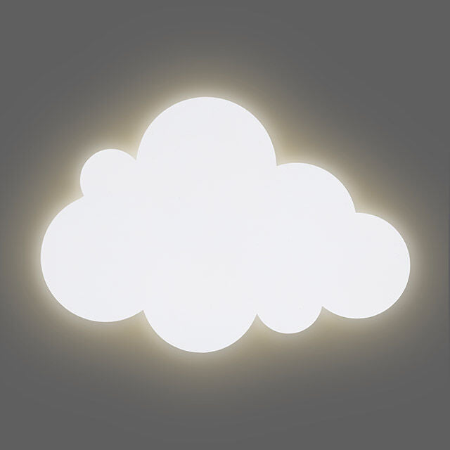 Wall lamp Children's room - Clouds - White