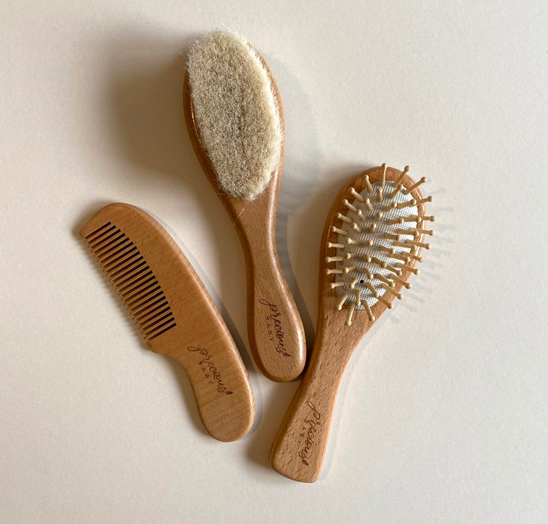 Baby Hair Brush and Comb Set for Newborn