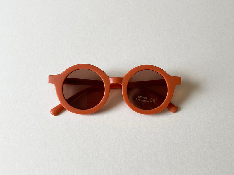 Vintage Sunglasses (Rust)