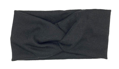 Twist Headband Black