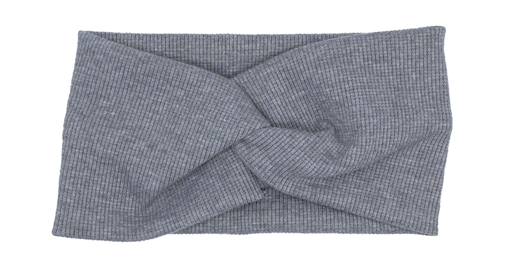 Twist Headband Light Grey