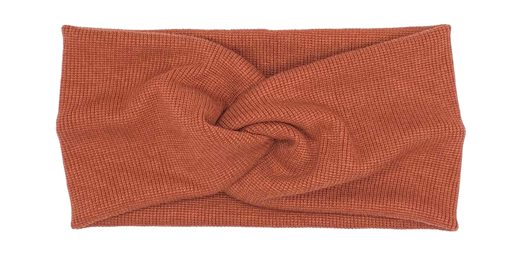 Twist Headband Rust