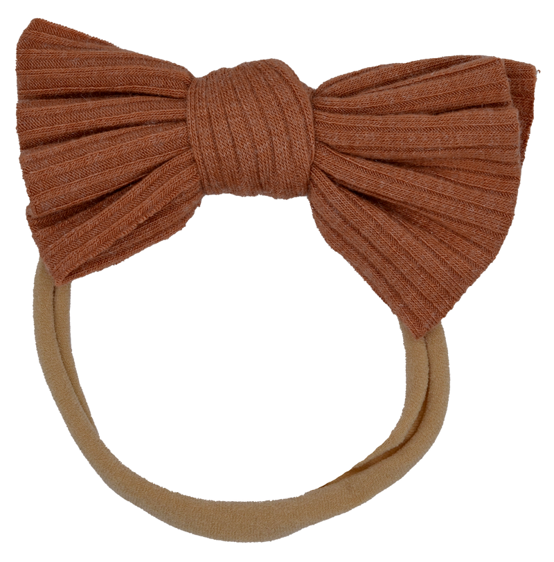 Ribbed Bow Camel