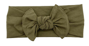 Cotton Headband Olive