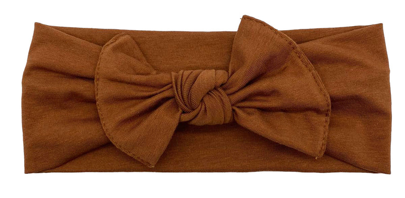 Cotton Headband Brown