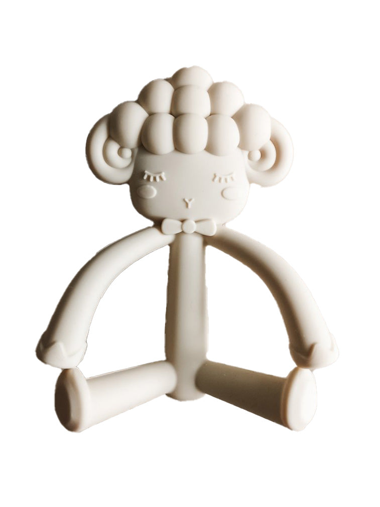 Lola Silicone Teether Ivory