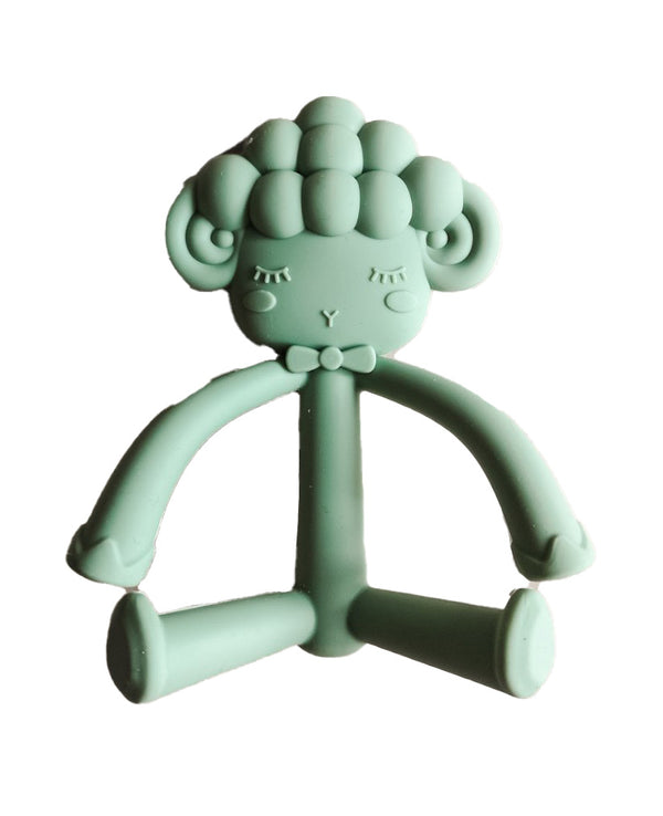 Lola Silicone Teether Sage