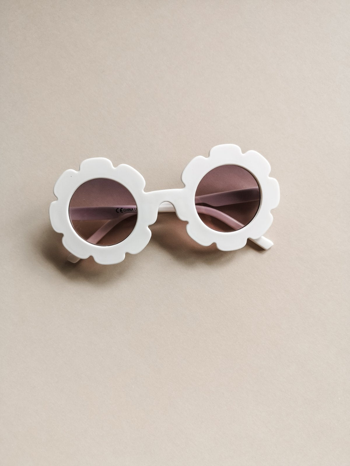 Daisy Sunglasses White