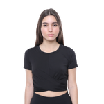 ELOISE- Gym Top (Black) Limited Edition! - FEM Athletica